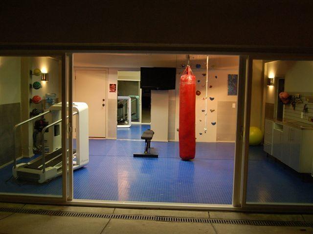 Backyard Gym Shed : Dream Gym Garage traditionalgarageandshed