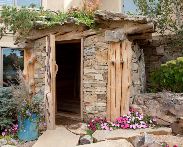Earth House - Traditional - Shed - Denver - by Outdoor ...
