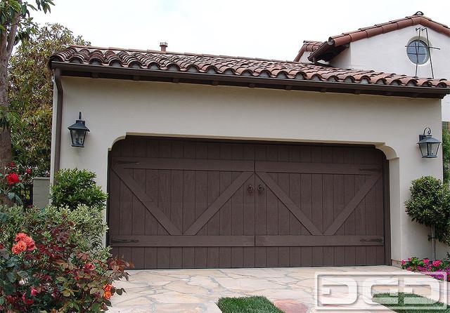 Eco Alternative Garage Doors 12 Composite Wood Garage Door In A