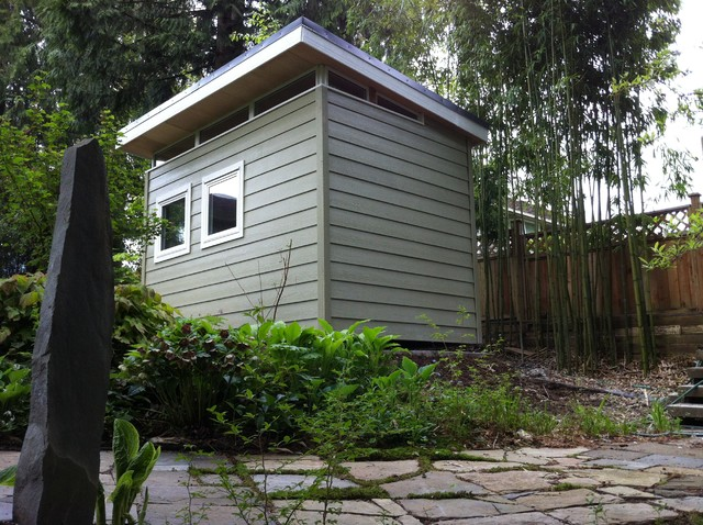 Edgemont 8' x12' Garden Shed contemporary-garage-and-shed