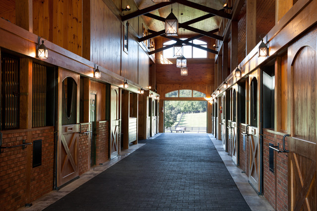 Equestrian Lifestyle Traditional Garage And Shed