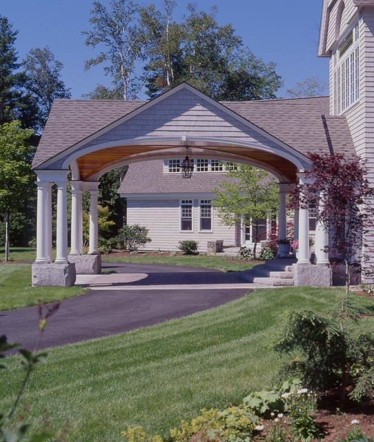 Estate Home in Peterborough NH - Traditional - Shed - other metro - by ...