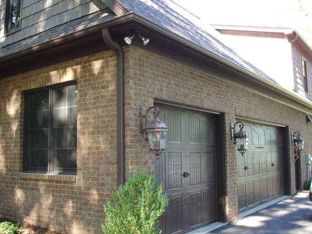 Exterior lighting traditional garage and shed for Outdoor garage light fixtures