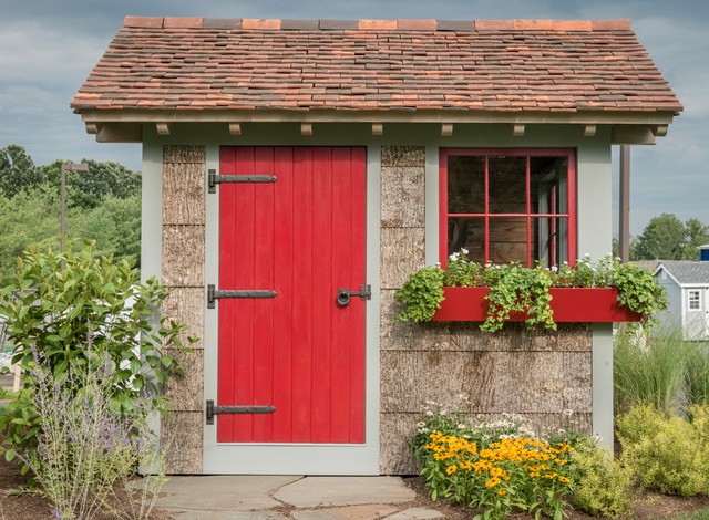Fancy that english potting shed for English garden shed designs