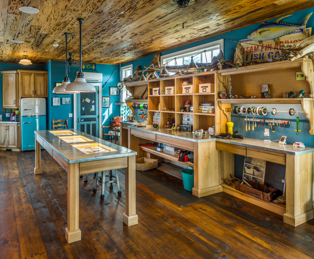 fishermen interior garage paint ideas - Fish Camp Eclectic Garage And Shed tampa by EPOCH