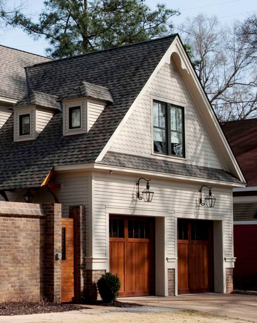 Folk victorian carriage house for Carriage shed garage plans