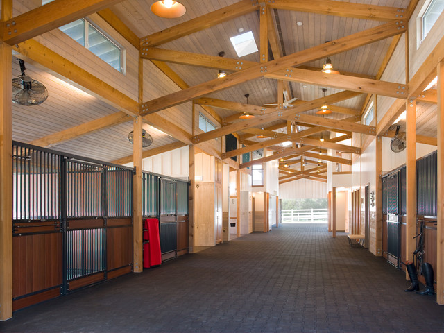 Four Winds Farm contemporary-garage-and-shed