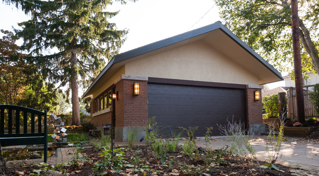 Frank lloyd wright garage modern granny flat or shed