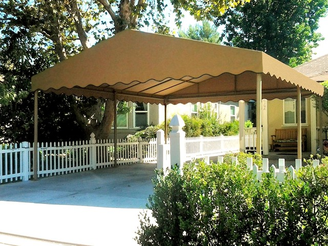 Freestanding Canvas Carport Traditional Shed Los