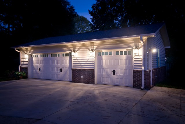 Freestanding Garage Traditional Garage And Shed