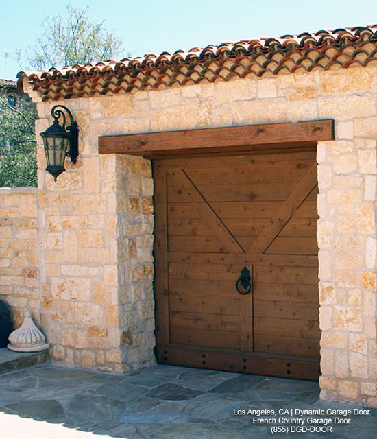 Delightful French Country Garage Doors #7: French Country Style Garage Doors - Architectural Designs Mediterranean-shed
