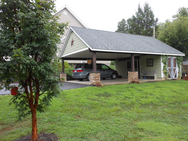 Garage Building/Pavilion in West Chester, PA - Traditional - Garage And Shed - philadelphia - by ...