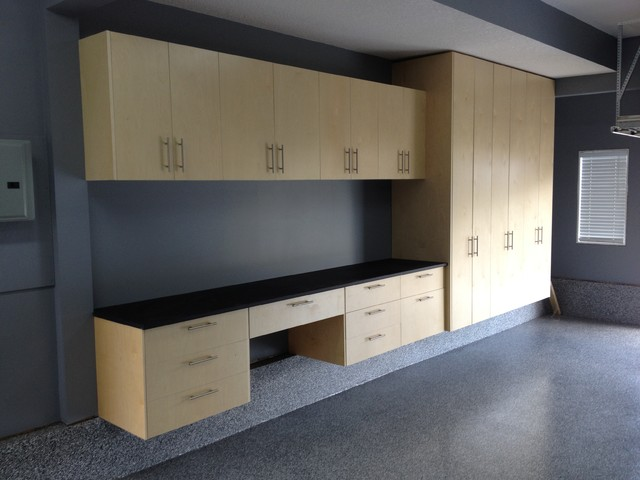 Garage Cabinet Installs - Modern - Garage And Shed - calgary - by ...