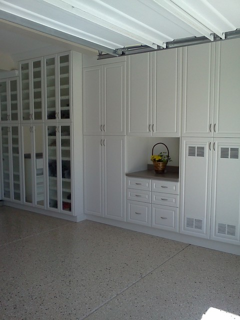 Perfect Garage Cabinets Traditional Shed