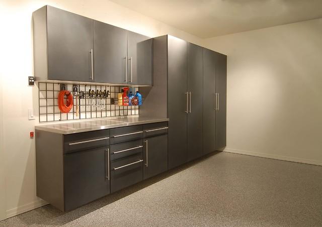 garage work station. Garage Cabinets \u0026 Work Station (Slate Powder Coat) Modern-shed I