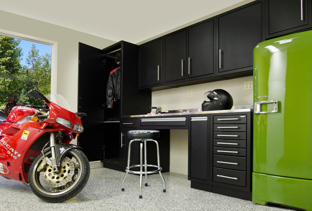 Garage Cabinets - Industrial - Shed - other metro - by ...