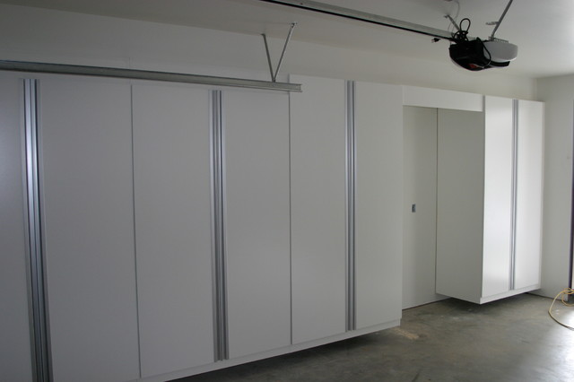 Garage Closets / Cabinets - Contemporary - Garage And Shed - orange county - by Cabinets Plus