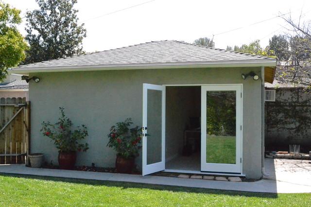 Garage Conversion contemporary shed. Garage Conversion   Contemporary   Shed   Other   by Pearl Remodeling