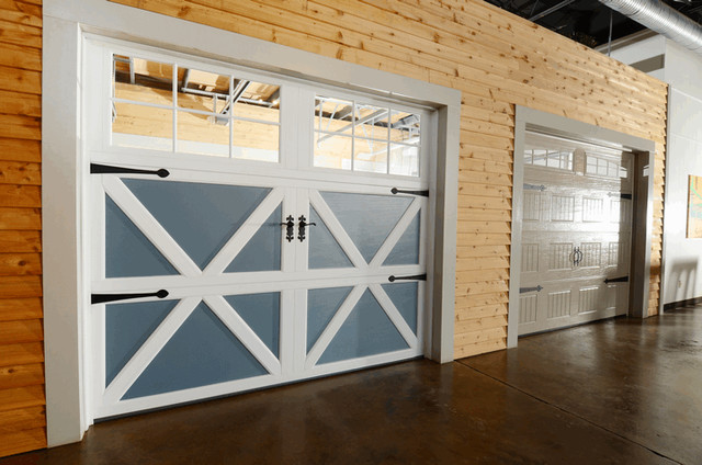 Garage Door Showroom Traditional Shed Charlotte By