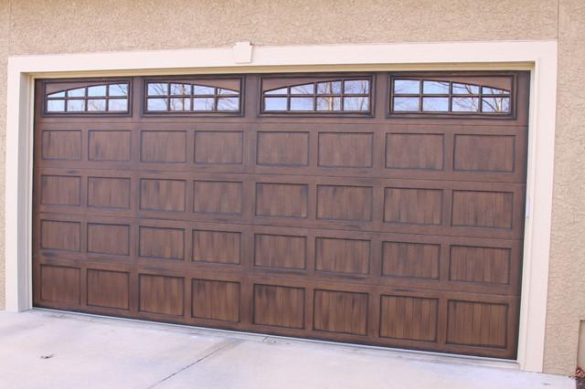 Garage Doors traditional-garage-and-shed