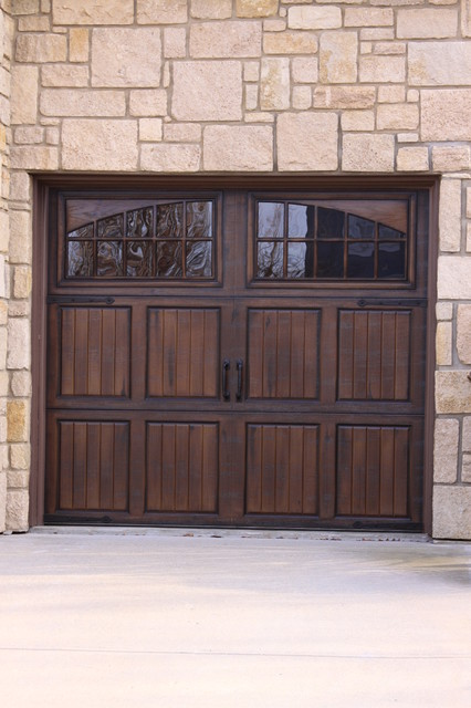 Garage Doors - Traditional - Shed - kansas city - by Fauxs and Finishes