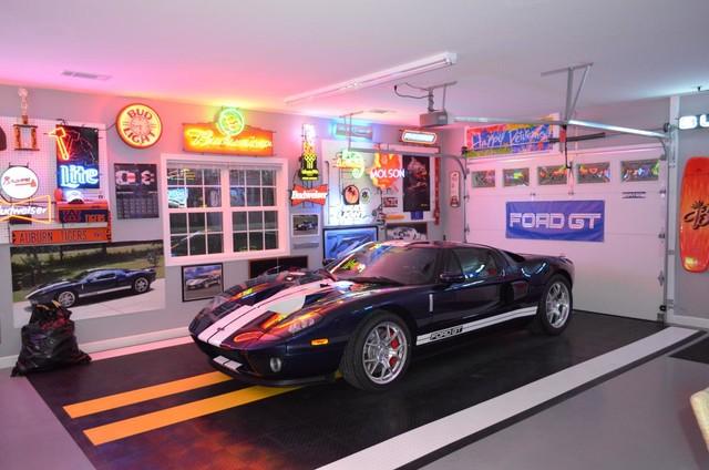 Garage Floor Tiles Garage Flooring Ideas By Racedeck Traditional
