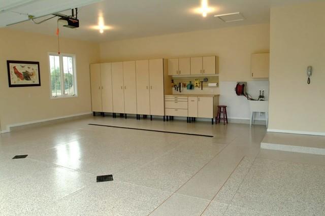 Garage Floors garage-and-shed