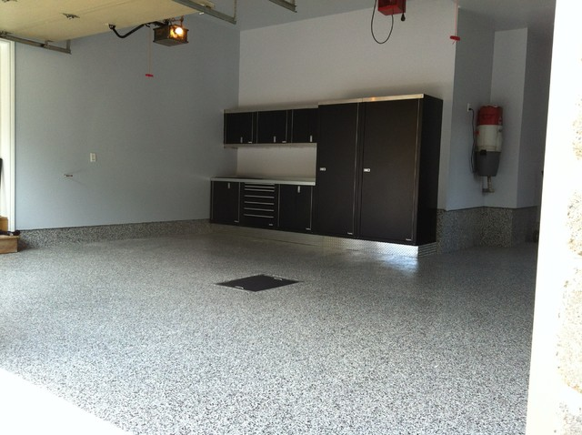 Garage Floors projects Modern Granny Flat or Shed Montreal