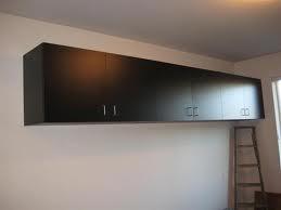 Garage Hanging Storage Cabinet Traditional Garage And