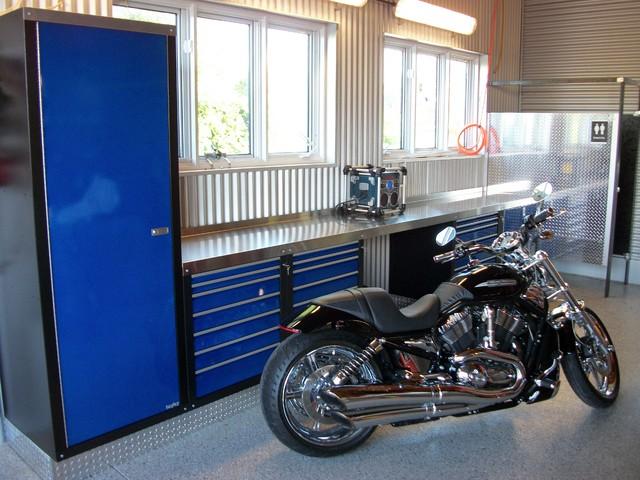 Garage Makeover #3 modern-garage-and-shed