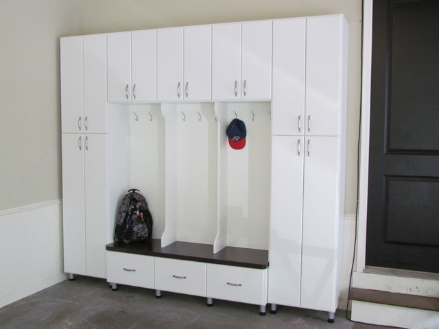 garage mudroom with doors garage and shed atlanta by