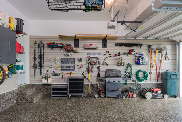 Garage Organization Traditional Shed Baltimore By