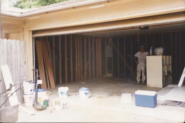 Garage remodel garage-and-shed