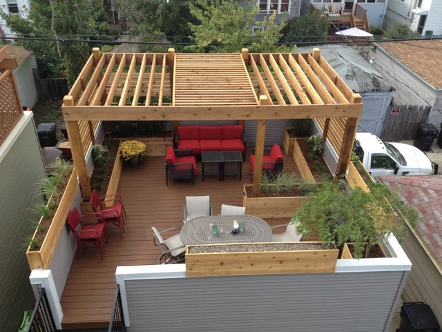 Rooftop Deck: Pergolas - An Ideabook By Wild Rye Designs