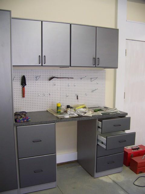 Garage Storage modern-garage-and-shed