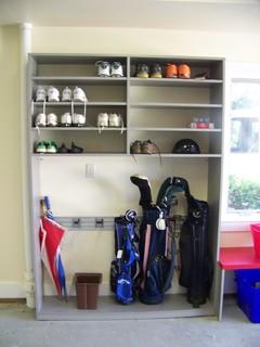 Garage Shoe Storage Houzz
