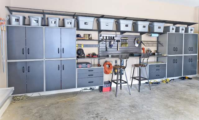 Garage Storage - Contemporary - Garage And Shed - cincinnati - by Organized Living
