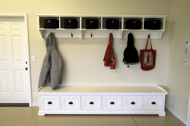 Garage Storage Solutions - Contemporary - Garage And Shed - portland ...