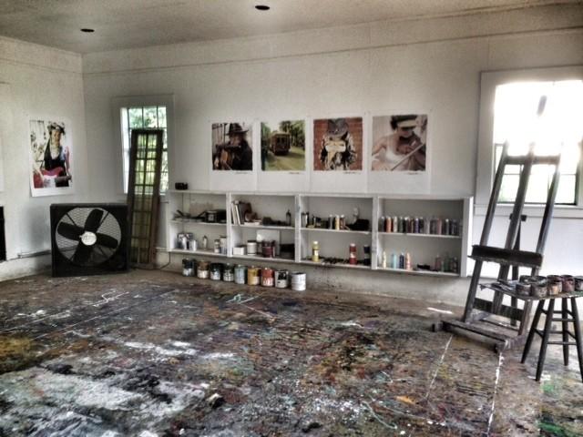 Garage turned art studio modern garage and shed for Garage con studio