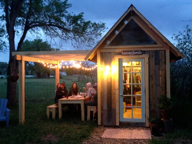 Garden Shed and Pergola - Craftsman - Shed - Denver - by Outrigger