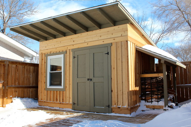 Garden shed craftsman shed other metro by piller for Craftsman style storage sheds