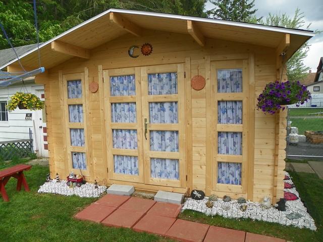 Garden sheds for Traditional garden buildings
