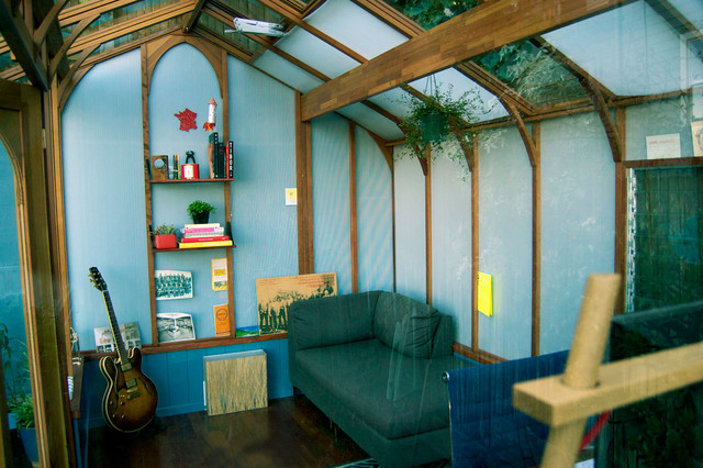 Small Backyard Man Cave : Garden Studio  Contemporary  Garage And Shed  san francisco