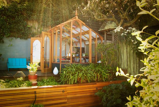 Garden Studio Contemporary Shed San Francisco
