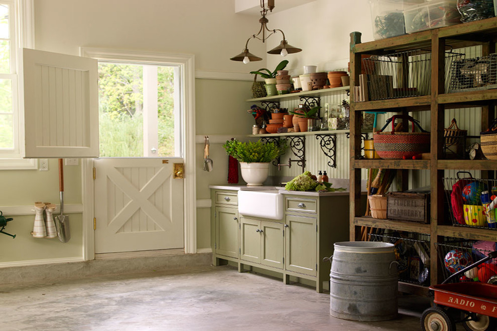 Example of a large classic garden shed design in Other
