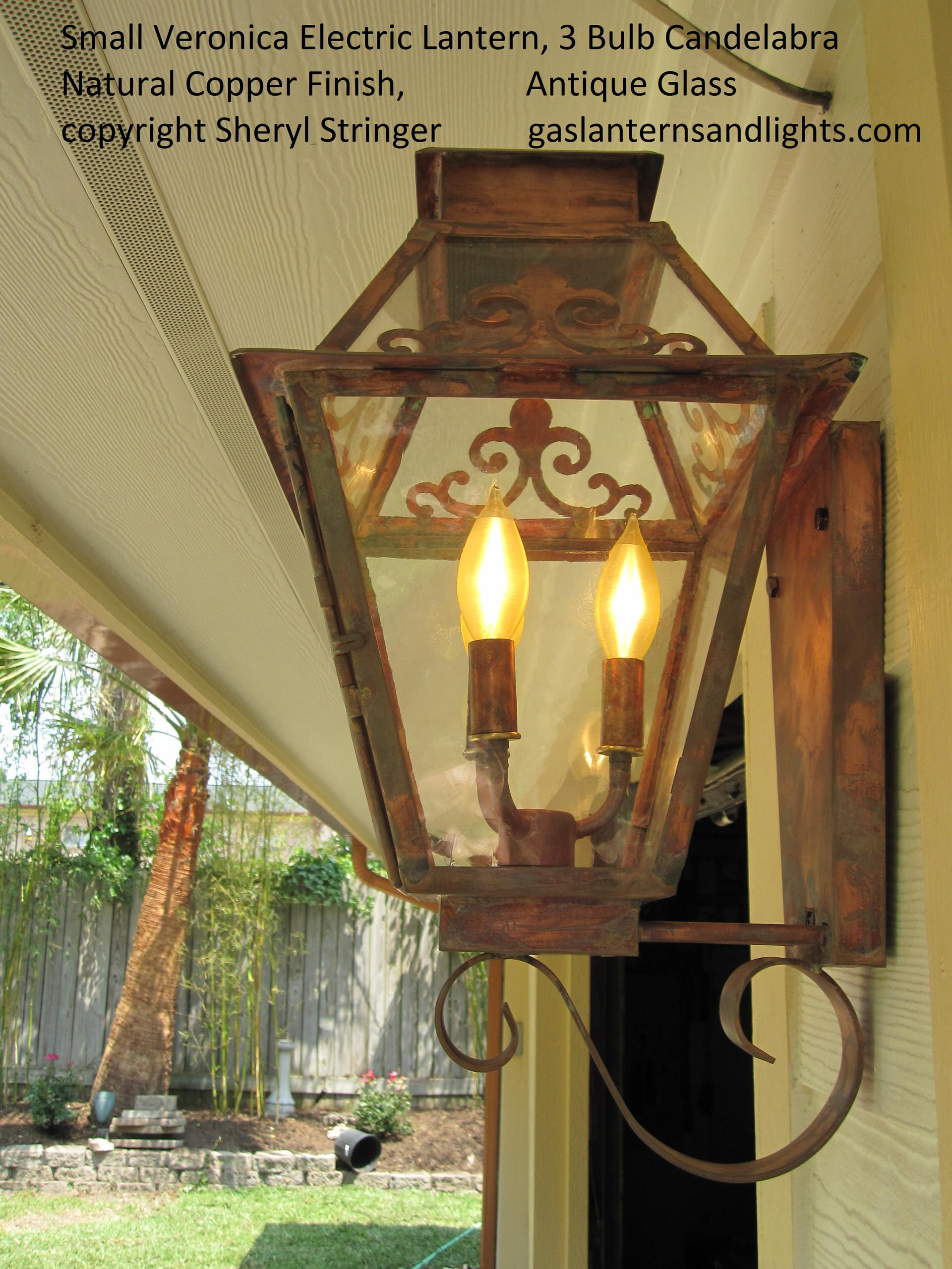 Glass Options for Gas Lanterns by Sheryl Stringer