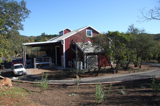Glen Ellen Winery traditional-garage-and-shed
