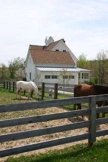 Gothic revival farmhouse casa de campo casetas - Casetas de campo ...
