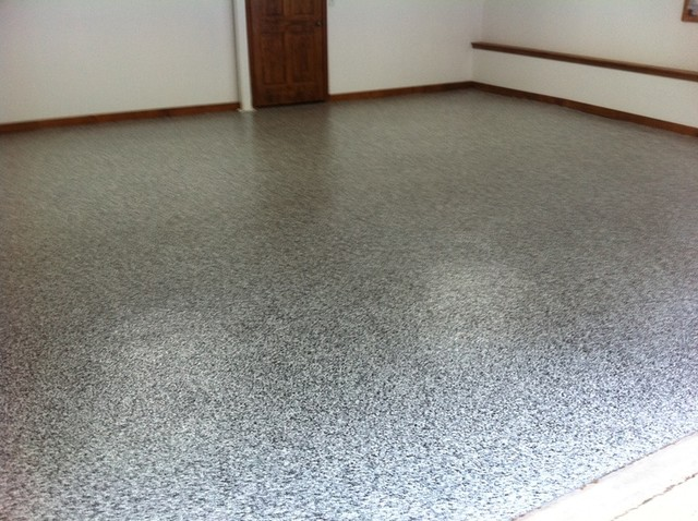 Granite Garage Floor Finishes Modern Shed Other By