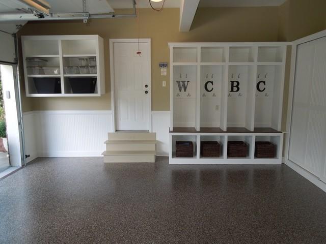 Granite Garage Floors Storage Modern Shed